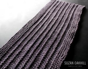 purl ridge scarf westknits sunnyi