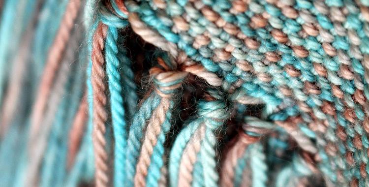 romski-weaving rigid heddle loom casbah detail