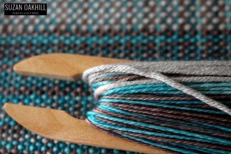 Weaving Kromski Casbah Rigid Heddle Loom